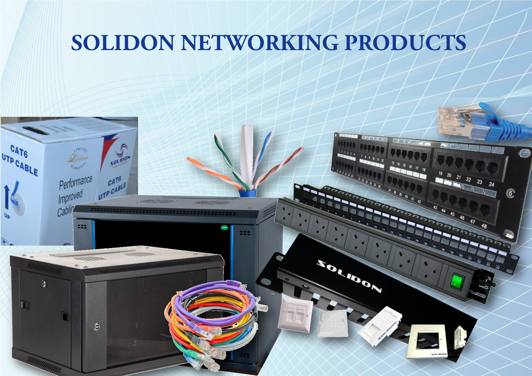 Authorized Distributor of Solidon